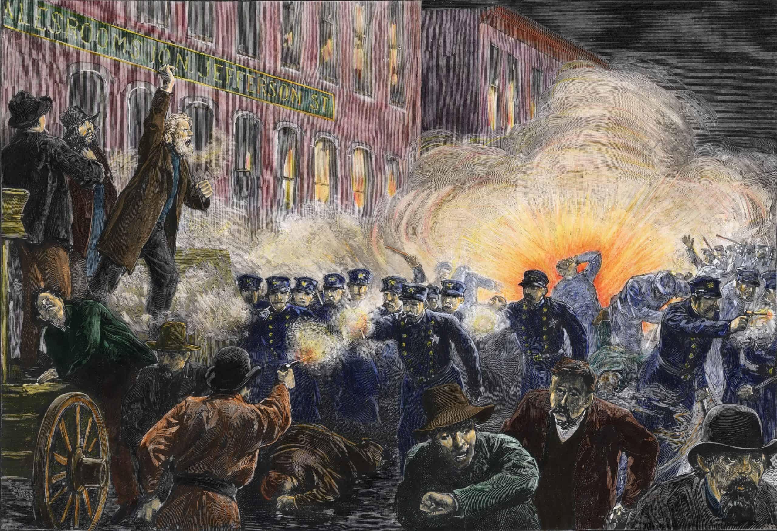 Mártires de Chicago, la historia detrás del Día del Trabajo