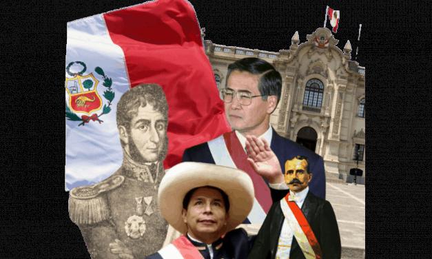 Presidentes del perú, lista completa y actualizada (desde 1821)